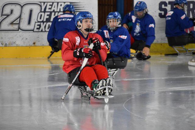 Česká para hokejová reprezentace | foto: Martin Veselý,  Martin Veselý