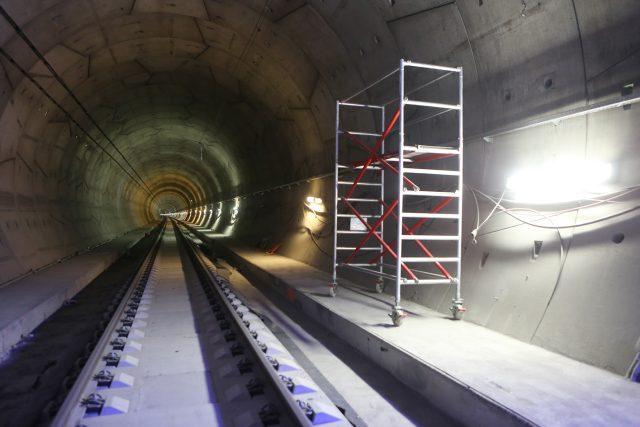 Ejpovický tunel v září 2018