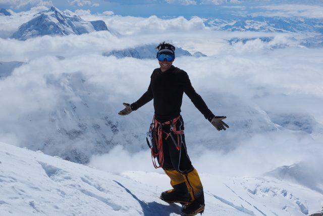 Ivo Grabmüller vystoupal na nejvyšší vrcholy všech kontinentů. Na Mount Everestu ale bojoval o život,  když mu došel kyslík. Zdravotní následky si ponese navždy | foto: Archiv Ivo Grabmüllera