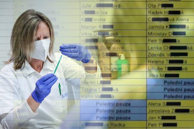 Z tabulky vyplývá, že očkování již dostali nebo mají v nejbližších dnech dostat téměř všichni zaměstnanci Státního zdravotního ústavu.