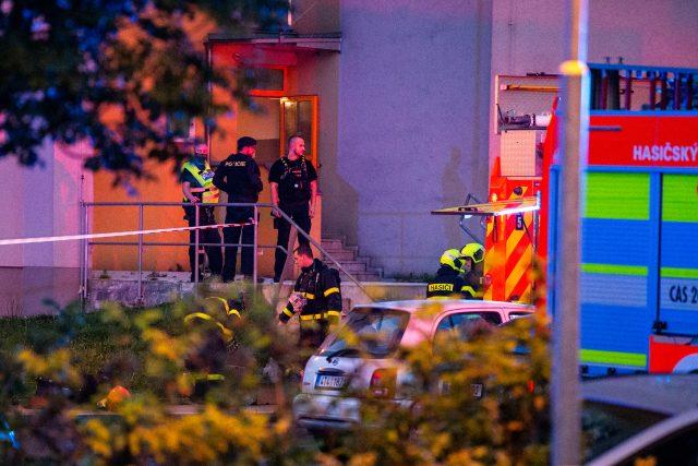 Místo tragédie v Bohumíně převzali vyšetřovatelé a kriminalisté