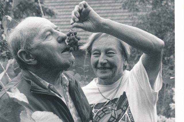 Dana a Emil Zátopkovi spolu prožili přes půl století | foto: Jaroslav Hejzlar - ČSTK / Právo,  Profimedia