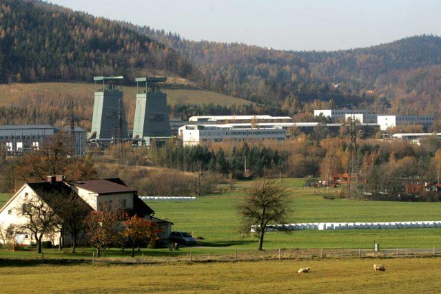 Důl Frenštát na archivním snímku z roku 2011