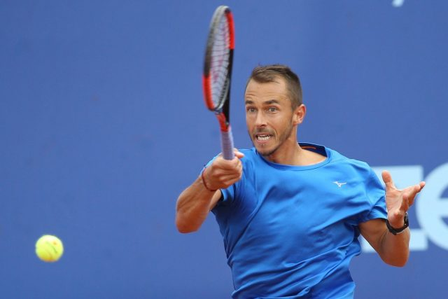 Český tenista Lukáš Rosol | foto: Milan Kammermayer,  Fotobanka Profimedia