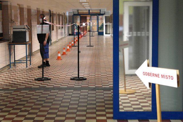 Testování kvůli koronaviru v OKD | foto: OKD