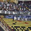 Fanoušci Baníku Ostrava po utkání na hřišti Dukla Praha