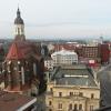 Konkatedrála Nanebevzetí Panny Marie stojí v centru Opavy hned vedle Slezského divadla